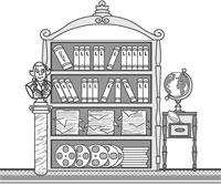Schrank gezeichnet  Lernmittel - Taubenschlag, das deutsche Portal für Hörgeschädigte