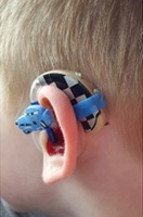 Mum designs hearing aid