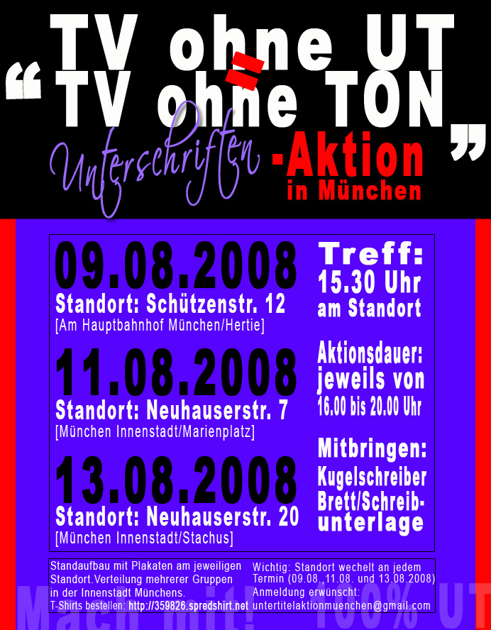 unterschriftenaktionen in mönchengladbach