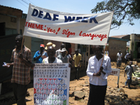Deaf Week in Kenia